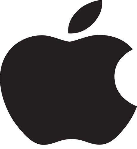 Appel logo black